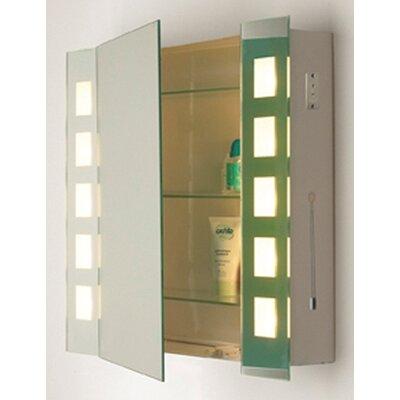 Dar Lighting Zenia Mirrored Cabinet Light