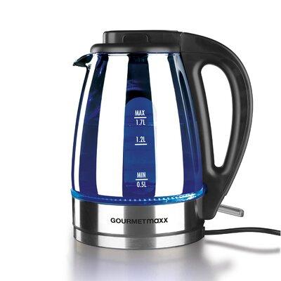 17 L Wasserkocher aus Glas | Küche und Esszimmer > Küchengeräte > Wasserkocher | Silver | Glas - Kunststoff | GOURMETmaxx