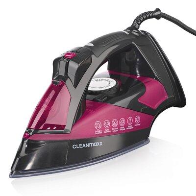 Dampfbügeleisen Nano 2600 W | Flur & Diele > Haushaltsgeräte > Bügeleisen | Blackpink | Keramik - Kunststoff | CLEANmaxx