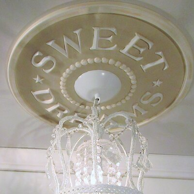 Sweet Dreams Ceiling Medallion Color: Taupe