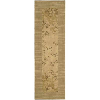 """Image of New Patina Bronze Area Rug Rug Size: Runner 2'3"""" x 7'5"""""""