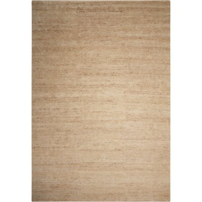 Mesa Calvn Klein Home Hand-woven Beige Area Rug Rug Size: Rectangle 8