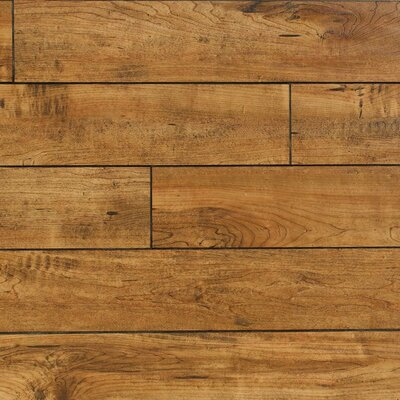 Heartland 5 x 48 x 12mm Maple Laminate Flooring in Rawhide