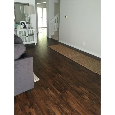 Heartland 5 x 48 x 12mm Maple Laminate Flooring in Bronco
