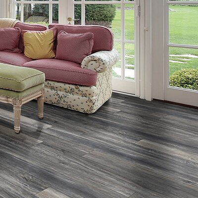 Rustica 6.5 x 48 x 12mm Oak Laminate Flooring in Paris