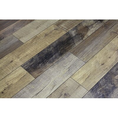 Rustica 6.5 x 48 x 12mm Oak Laminate Flooring in Madrid