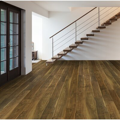 Skyscrappers 7.5 x 72 x 12mm Walnut Laminate Flooring in Empire State Building