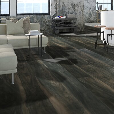 Skyscrappers 7.5 x 72 x 12mm Walnut Laminate Flooring in Chrysler Building
