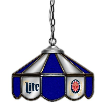 Miller Lite 1-Light Pool Table Light