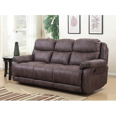 Pasternak Reclining Sofa Type: Manual
