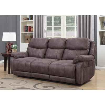 Pasternak Reclining Sofa Type: Power