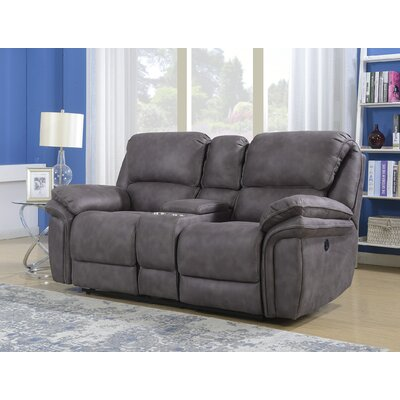 Creel Reclining Loveseat Type: Manual