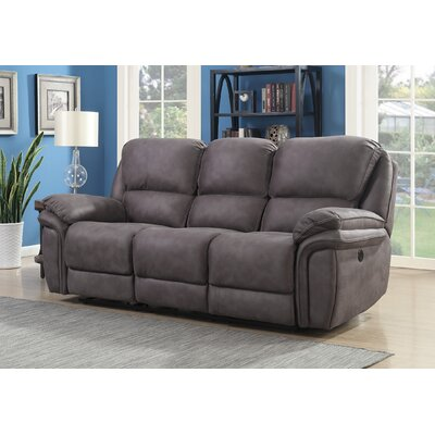 Creel Reclining Sofa Type: Manual