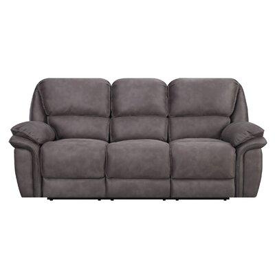 Creel Reclining Sofa Type: Manual