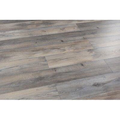Alice Adventures 8 x 49 x 12mm Laminate Flooring in Brown (Set of 4)