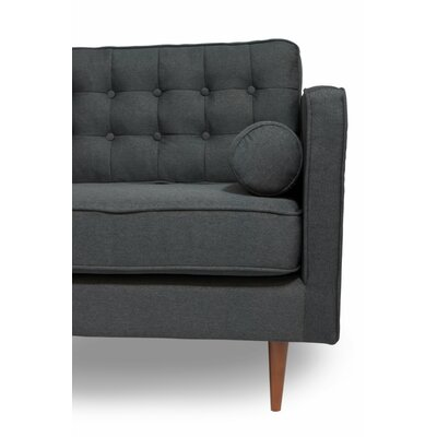 Champlost Reversible Sectional Upholstery: Dark Gray, Orientation: Left Hand Facing