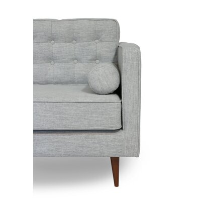 Champlost Reversible Sectional Upholstery: Light Gray, Orientation: Left Hand Facing