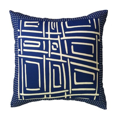 Procter Bordered Throw Pillow