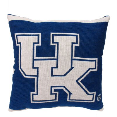 NCAA University of Kentucky Throw Pillow