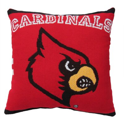 NCAA University of Louisville Throw Pillow