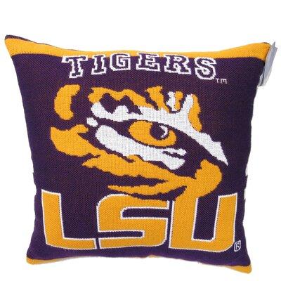 NCAA LSU Throw Pillow