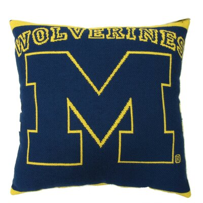 NCAA University of Michigan Throw Pillow