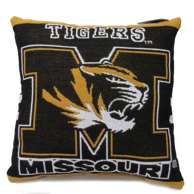 NCAA University of Missouri Throw Pillow