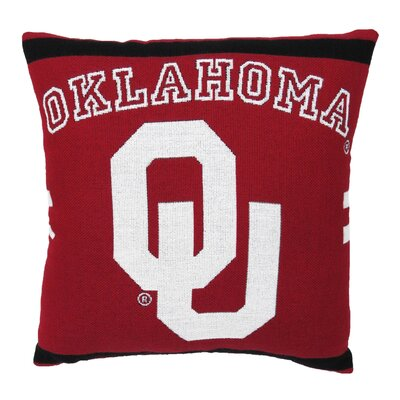 NCAA University of Oklahoma Throw Pillow