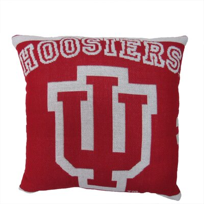 NCAA Indiana University Throw Pillow