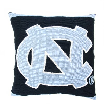 NCAA UNC Throw Pillow