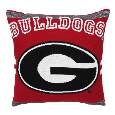 NCAA University of Georgia Throw Pillow