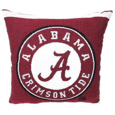 NCAA University of Alabama Throw Pillow