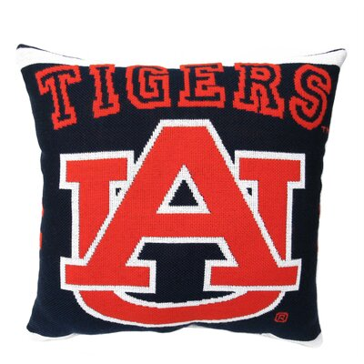 NCAA Auburn University Throw Pillow