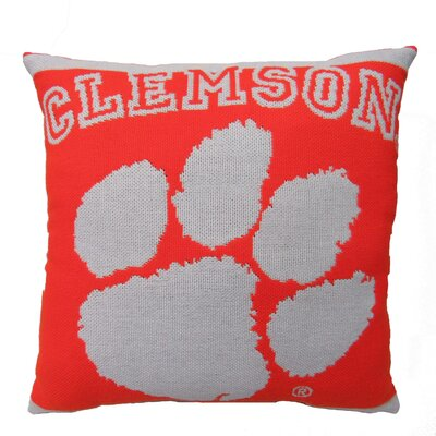 NCAA Clemson University Throw Pillow