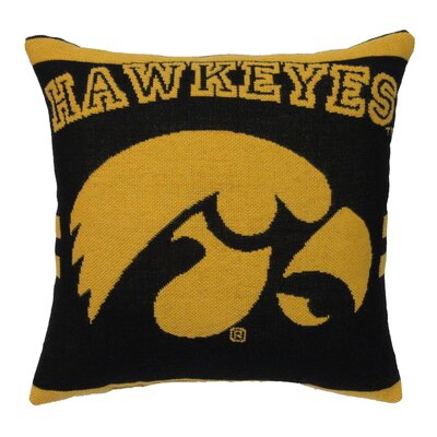 NCAA University of Iowa Throw Pillow