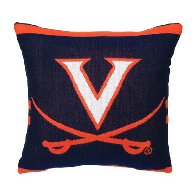 NCAA University of Virginia Throw Pillow