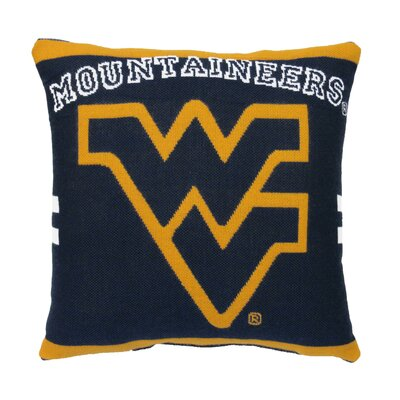 NCAA West Virginia University Throw Pillow