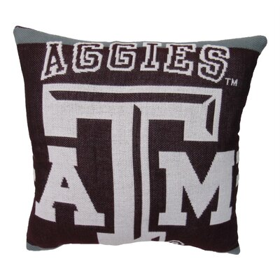 NCAA Texas A&M University Throw Pillow