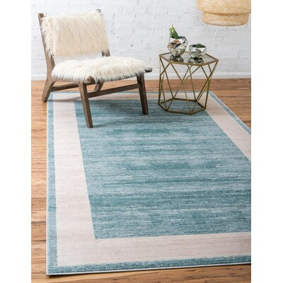 Uptown Turquoise Area Rug Rug Size: Rectangle 9 x 12