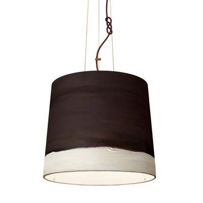 The Sisters 1-Light Drum Pendant Shade Color: Noon, Size: 79 H x 35 W x 30 D
