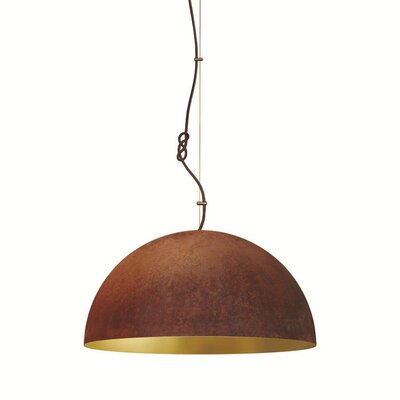 The Queen 1-Light Inverted Pendant Size: 79 H x 23 W x 11 D