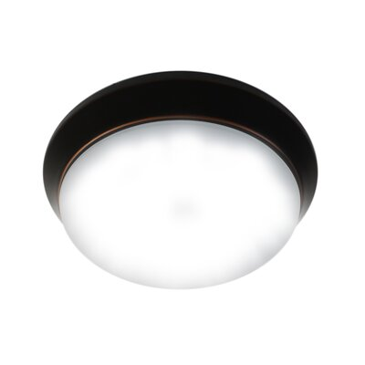 Crotty LED Flush Mount Fixture Finish: Oil Rubbed Bronze