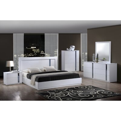 Global Furniture USA Jody Panel Bedroom Collection (5 Pieces) - Size: Queen at Sears.com