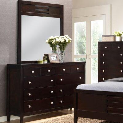Global Furniture USA Lily 10 Drawer Dresser