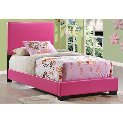 Upholstered Panel Bed Size: Twin