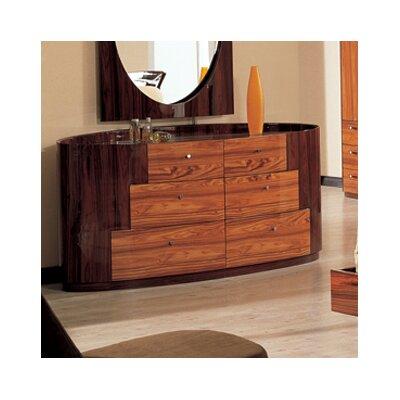 Global Furniture  on Global Furniture Usa Arizona 6 Drawer Dresser   B92 Series