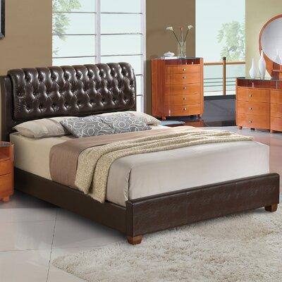 Upholstered Platform Bed Size: King