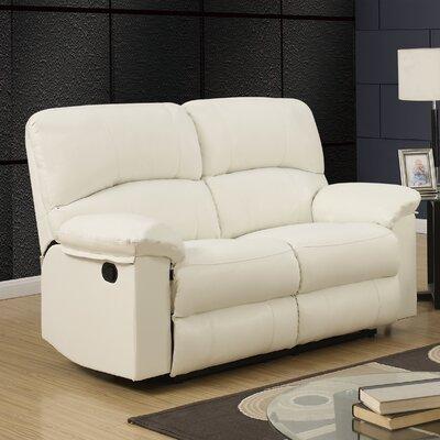 U99270 – WHITE – RLS GQ3602 Global Furniture USA Reclining Loveseat