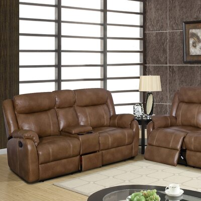 U7303C-CRLS W/DRAWER-WALNUT Global Furniture USA Sofas