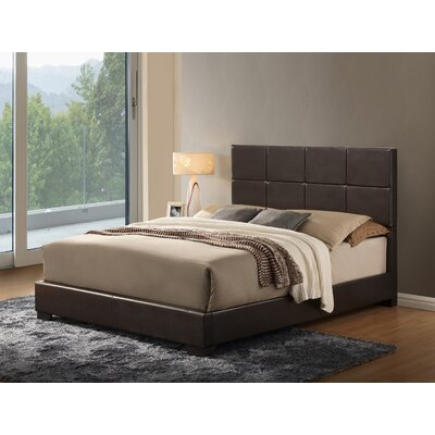 Backlund Upholstered Panel Bed Size: King